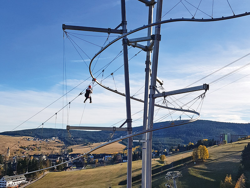 Newly opened adrenaline adventure in Ore Mountains !